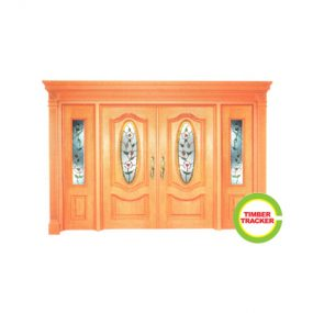 Solid Wood Door CT-C1
