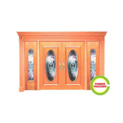 Solid wood door ct c33 malaysia door manufacturer for Solid wood door company
