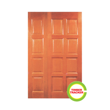 Solid Wood Door (Double Leaf) - CT 10E