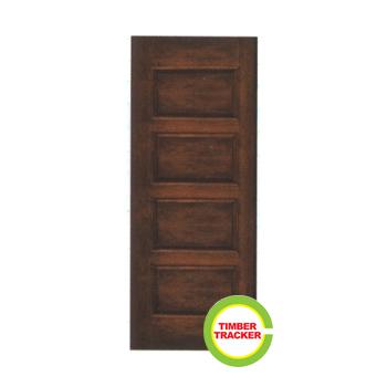 Solid wood door ct44 wooden door supplier klang valley for Solid wood door company