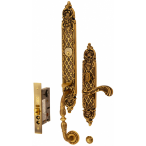 Mestre - American Mortise Handleset - 1704 LA/LAM - Exclusive Series Lever Handle