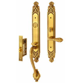 Mestre - American Mortise Handleset - 3404 LA - Exclusive Series Lever Handle