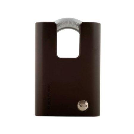 Yale Black Series Hardened Steel Closed Shackle Padlock (Molybdenum Shackle)