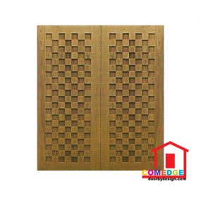 Double Panel Decorative Door - Double Panel Decorative Door – CT-IDA 28