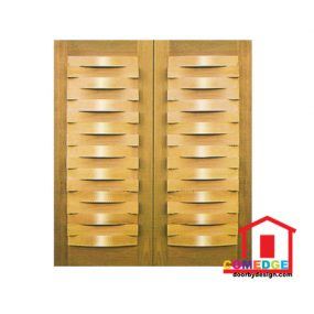 Double Panel Decorative Door