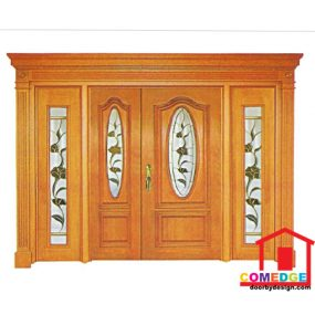Classical Main Door With Temperated Glass - Classical Main Door – CT-IDC 88E