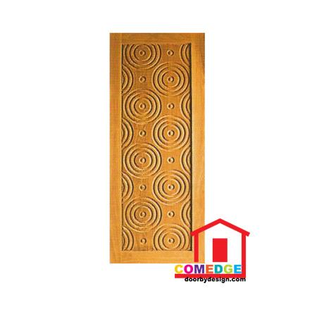 Engraving Solid Panel Door - CT-IDD 52 - Engraving Solid Panel Door