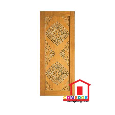Engraving Solid Panel Door - CT-IDD 58 - Engraving Solid Panel Door
