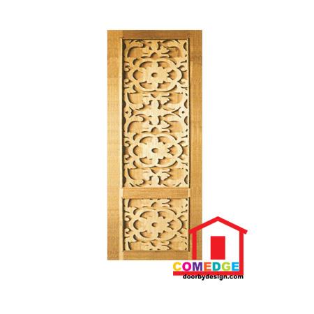 Engraving Solid Panel Door - CT-IDK 1 - Engraving Solid Panel Door