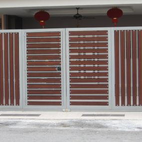 Stainless Steel Entrance Gate 01