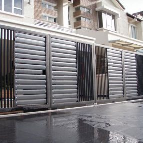 Stainless Steel Entrance Gate 10