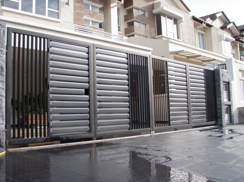 Stainless Steel Entrance Gate 10 Malaysia Entrance Gate