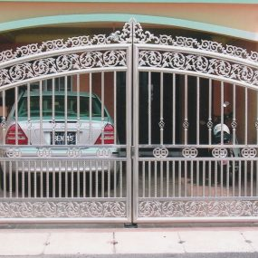 Stainless Steel Entrance Gate 12