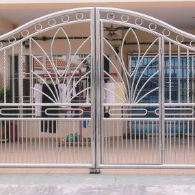 Stainless Steel Entrance Gate 13