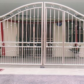 Stainless Steel Entrance Gate 14