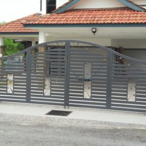 Stainless Steel Entrance Gate 15