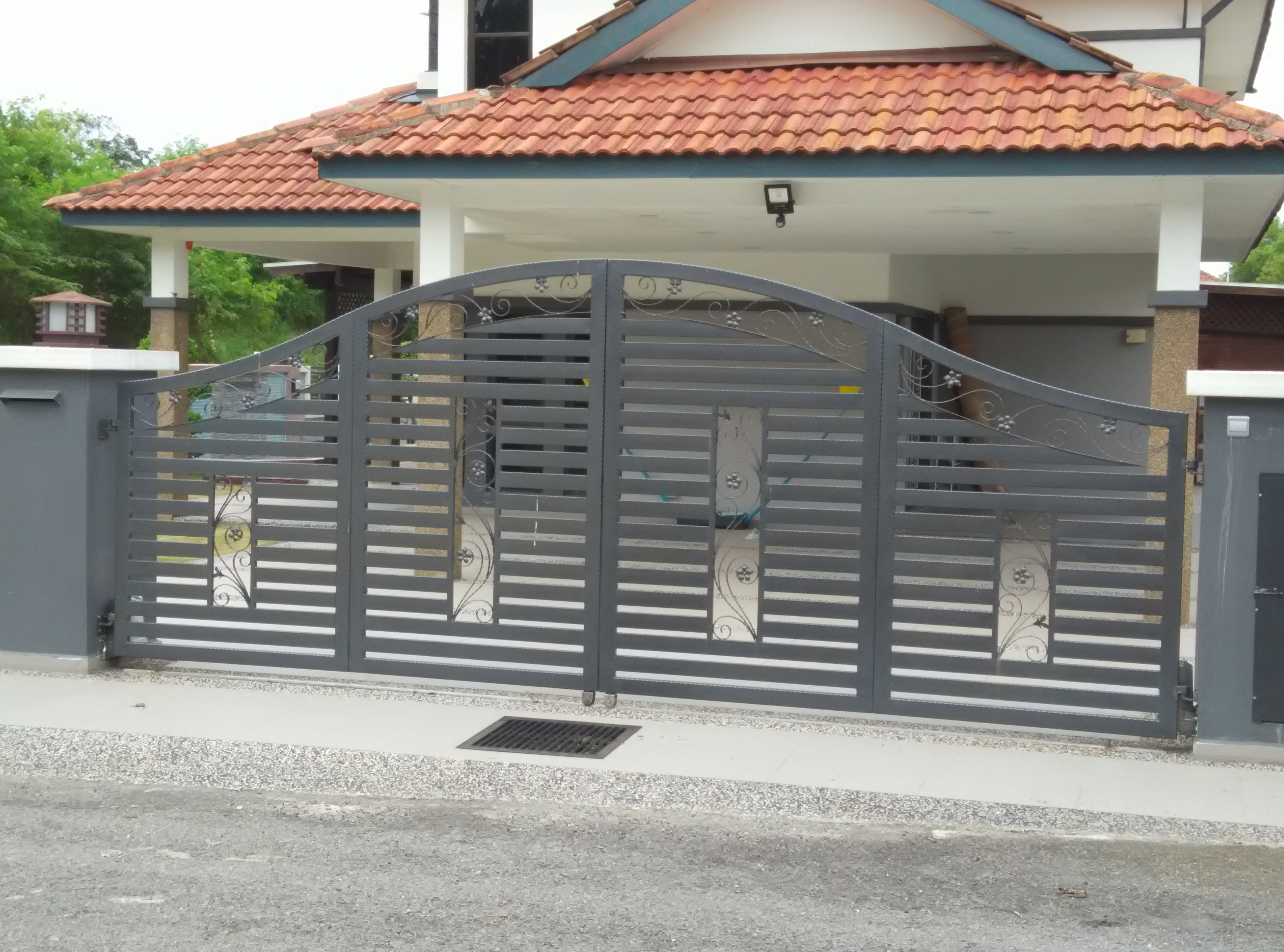 Stainless Steel Entrance Gate 15 | Malaysia Entrance Gate