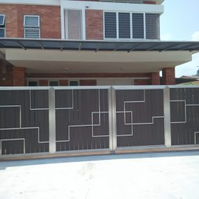 Stainless Steel Entrance Gate 16