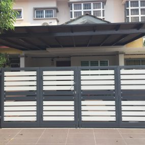 Stainless Steel Entrance Gate 19