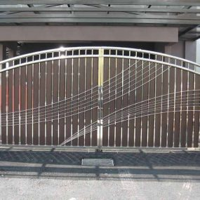 Stainless Steel Entrance Gate 20