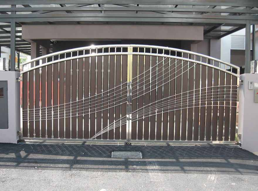 Stainless Steel Entrance Gate 20 Stainless Steel Gate