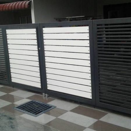 Stainless Steel Entrance Gate 03