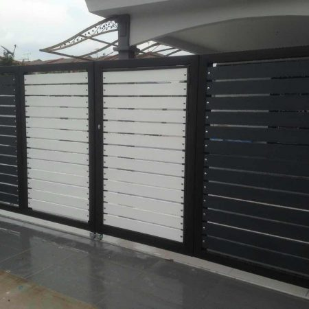 Stainless Steel Entrance Gate 04