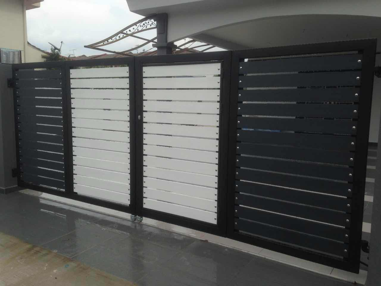Stainless Steel Entrance Gate 04 | Stainless Steel Gate