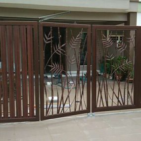 Stainless Steel Entrance Gate 05