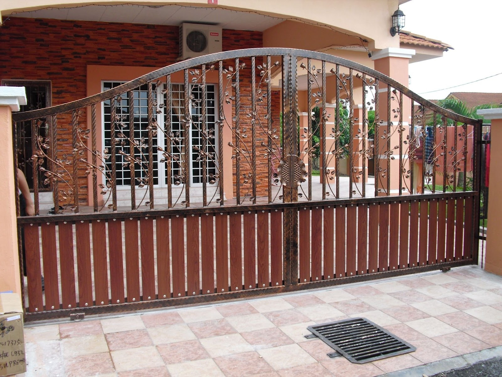 Stainless Steel Entrance Gate 06 | Door Manufacturer ...