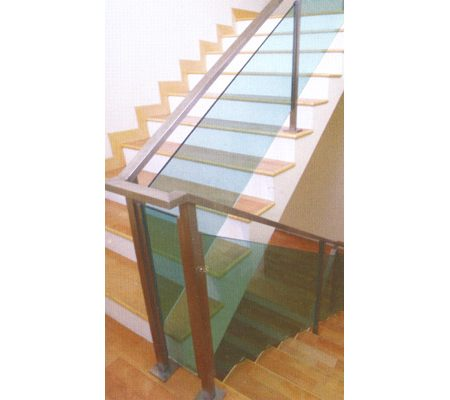 Staircase Railing & Glass 01