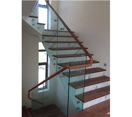 Staircase Railing & Glass 04